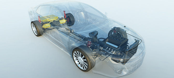 Automobiltextilien: Aramid-, Polyamid- & Polyesterstoffe - Baltex