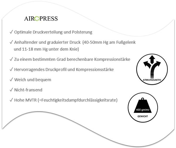 Airopress Vorteile